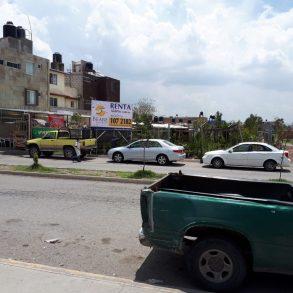 T 60.- Terreno Comercial en  renta, frente a Aurrera Santa Matilde a un costado de Elektra.